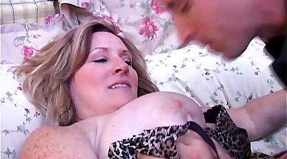BBW Mature With Amazing Boobies Fucked On Sofa