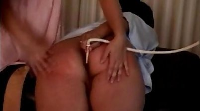 Gyno exam with Spanking then sucking