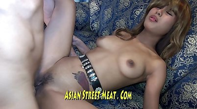 Back alley babe with meaty massive boobs gets her tight pussy pounded live blowbang by massivedick Lulu
