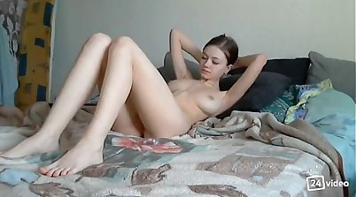 Latina Russian Skinny Booty Doll Fingers and Dips!