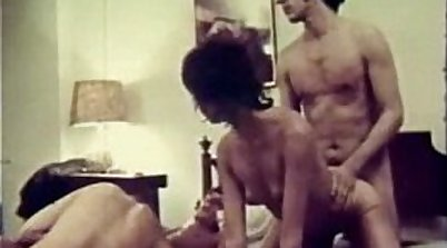 Vintage poker dirty gangbang Double penetration by two hot chicks
