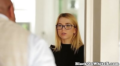 Bigtitted student interracial bbc fountain