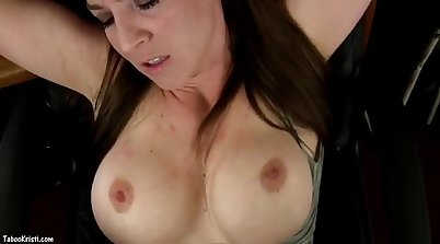 MOM MILF sucking the big dick by her son