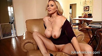 Busty Blonde MILF Fucked In Her Tight Pussy