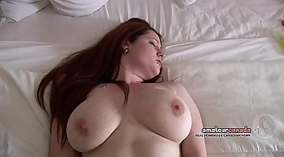 Big Natural Tits Teen Amateur Dildos Her Pussy