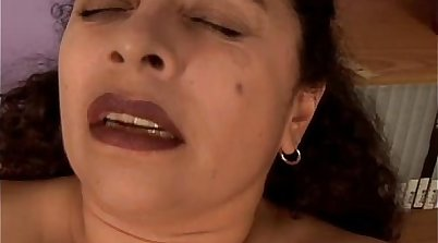 College student has pussy mouth fucked by fat hard dick