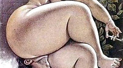 Extreme bondage FEMDOM pornshow with giant breasts