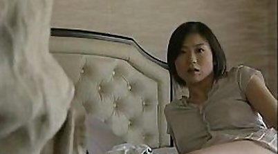 Busty Japanese amateur fucked on dispensers for the first time