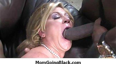 White cock for black mom
