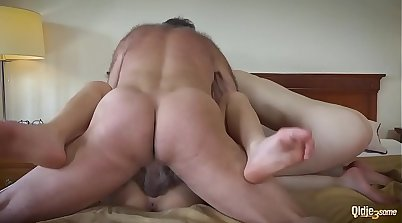 Asian girlfriend t played with on the couch. Hot duo
