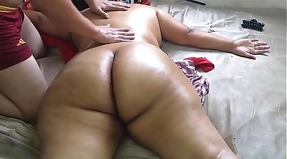 Adriana Lopez Naked on HD Massage Table