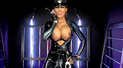 Latex bitch tortured and fucked