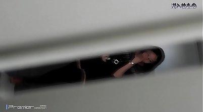 hidden cam in front of school dorm