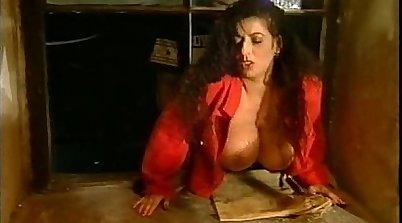 Big Boob Brunette Topless Feet Filmed