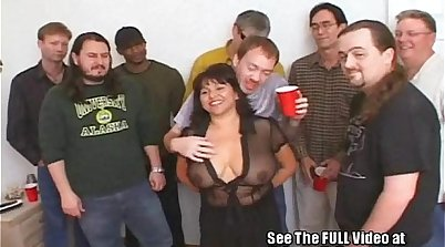 Bukkake hd - Last night at party orgy