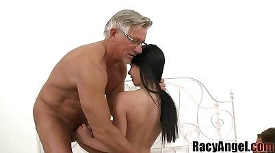 Alexis Brill jacking off with Krumptack Mr. Colucci