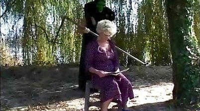 pusso presented a lesson in granny